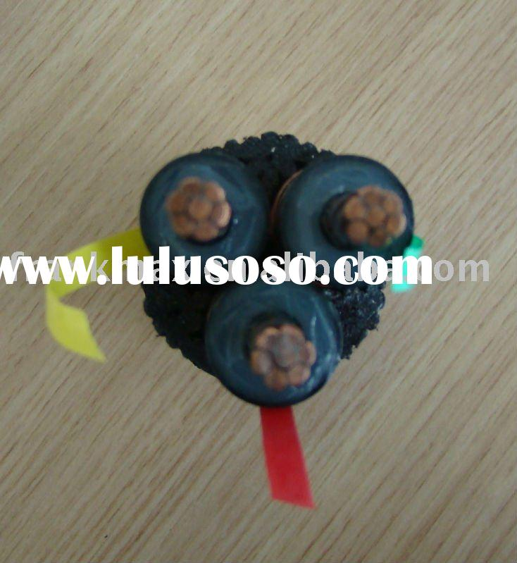 500mm2 IEC60840 four core Underground Pure copper/Aluminum Armoured XLPE Power Cable UP To 35KV