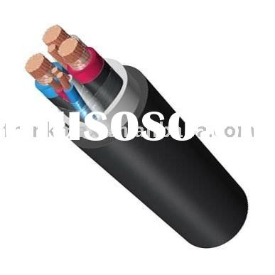 630mm2 IEC60840 Single core/Multi-core Underground Pure copper/Aluminum Armoured XLPE Power Cable UP