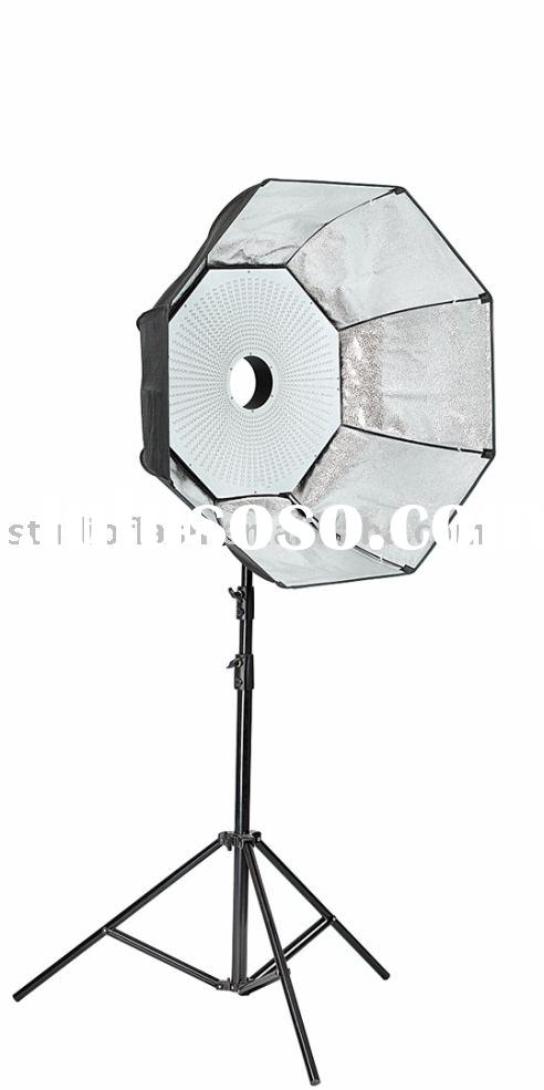 69W 5600K Octagon LED studio light with softbox, for photo studio and video use