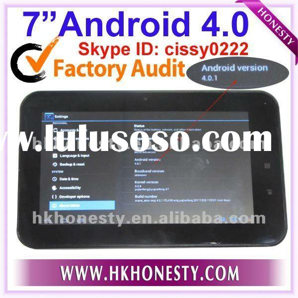 "7""A10 Capacitive MID Pad Tab Tablet PC Android 4.0 update from 2.3 OS"