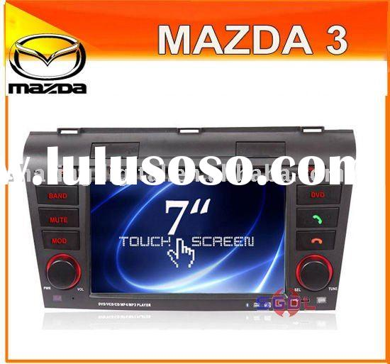 "7"" HD Car DVD with GPS IGO8 map Blue tooth for Mazda 3"