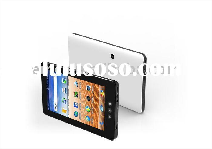 7'' tablet pc with dual core processor build in 3g tv gps FM