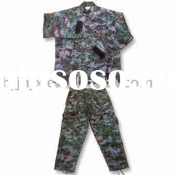 AM BDU camo combat army uniforms