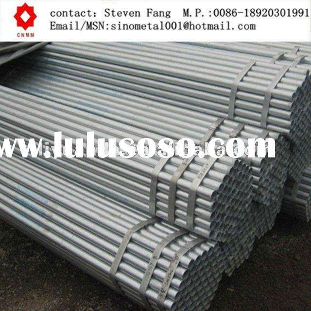 ASTM A53 GrB BS1387 galvanized steel pipe