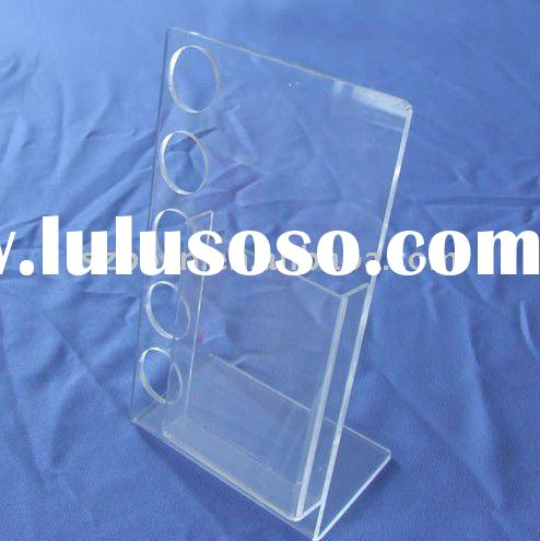 Acrylic Decorative Magzine Rack,Acrylic News Paper Stand,Plexiglass Brochure Display Stand
