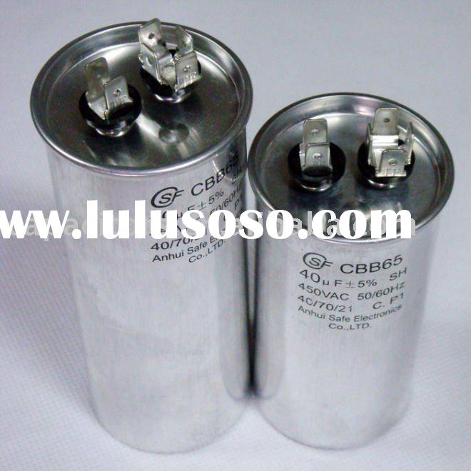 Air compressor capacitor (CBB65/CBB60)