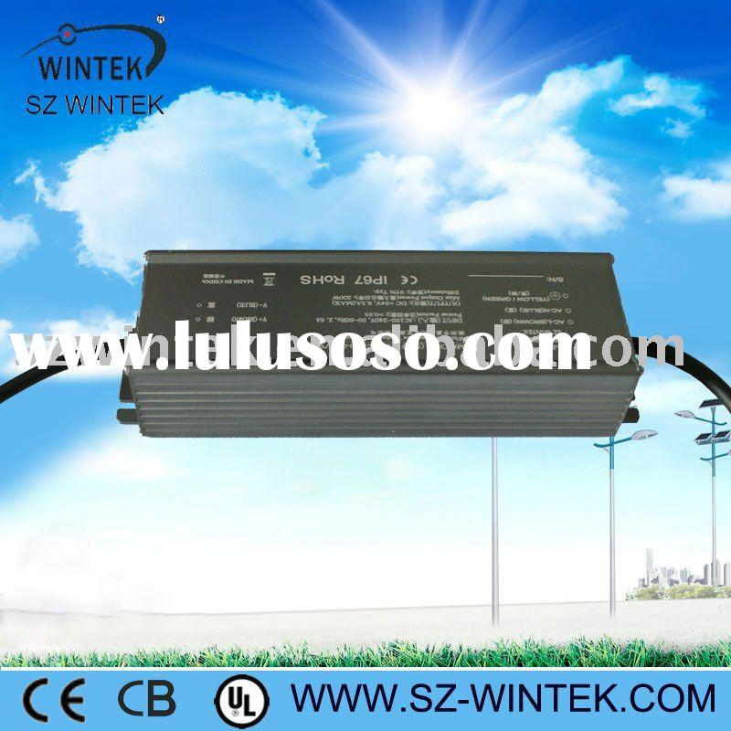 Aluminium constant voltage 12V/24V dc led driver