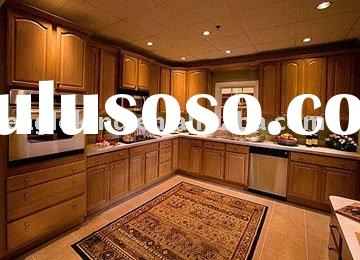 American Style Knock Down Solid Wood Kitchen Cabinet