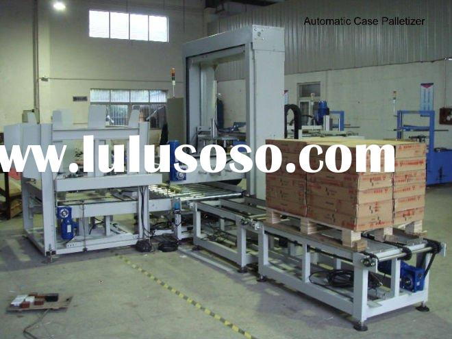 Automatic pallet stacking machine palletizer packing machine