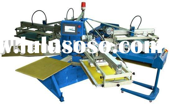 Automatic small T shirt screen printing machine for garment