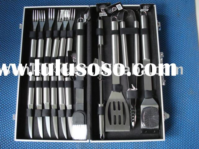 BBQ set barbecue equipment grill set bbq kit stainless steel barbecue tool set barbecue tool 06108