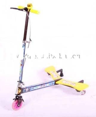 BS02 3 Wheels Power Swing Scooter for Kids