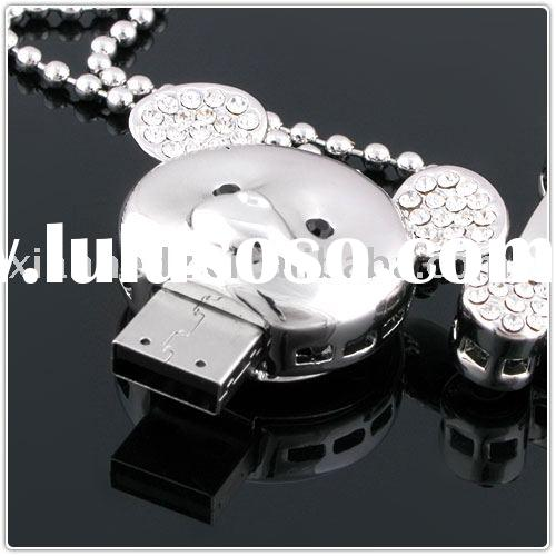 Bear USB, jewellery USB, Crystal USB, Robot USB, USB Flash Drive, USB Flash Disk, USB drive, Memory