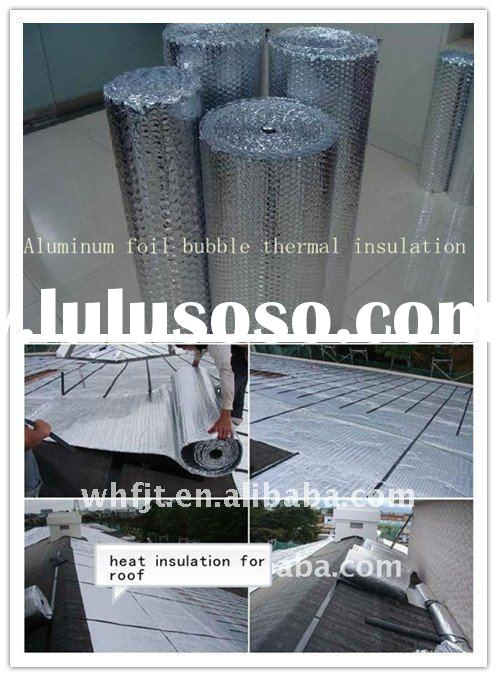 Bubble aluminum foil heat resistant roof insulation materials
