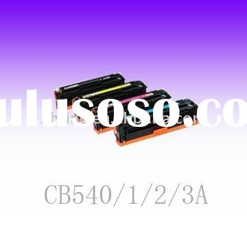 CB540A/541A/542A/543A color Toner Cartridge compatible for HP/Canon laser printers