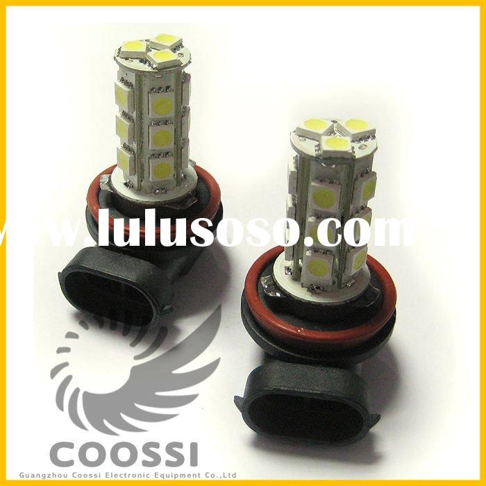 Car 18 LED H11 5050 SMD White rear fog light [CP367]