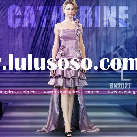 Catherine New Fashion Front Short And Long Back Evening Dress 2012 BN2027