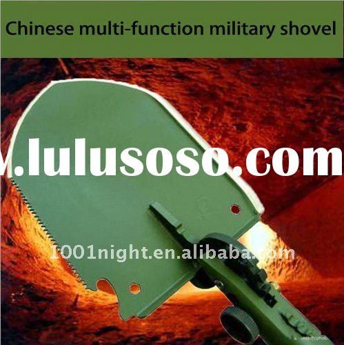 Chinese army multi-function military portable folding shovel