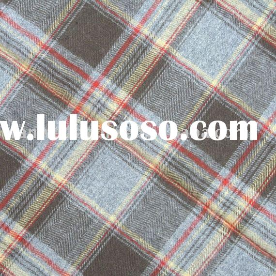 Cotton Yarn Dyed Flannel Fabric
