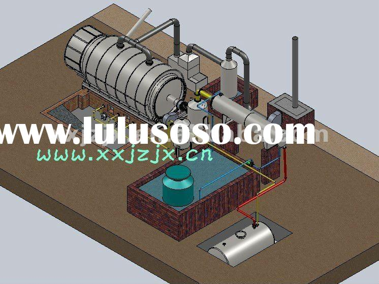 Cutting-edge!! Waste pyrolysis waste Plastic Recycling Machine