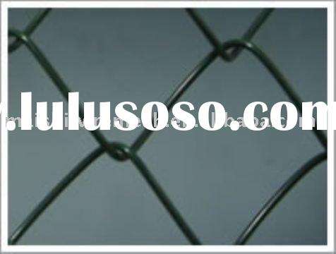 Diamond Wire Mesh Vinyl Coated Chain Link Fence