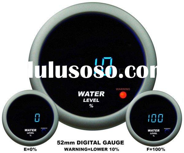 Digital Water Level Gauge (auto meter, auto part)