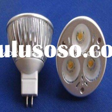 Dimmable MR16 CREE 3X2W high Power led light bulbs lighting