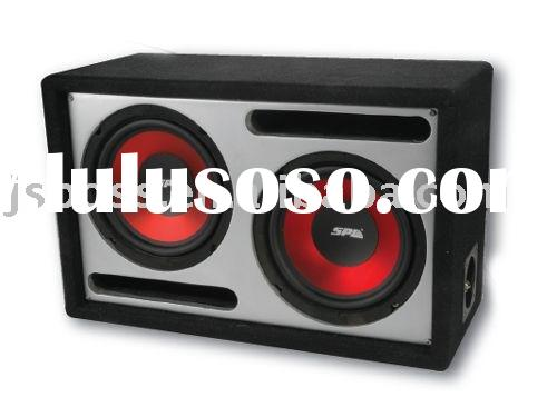 "Dual 6.5""/8"" Ported Bass subwoofer Box,empty speaker box"