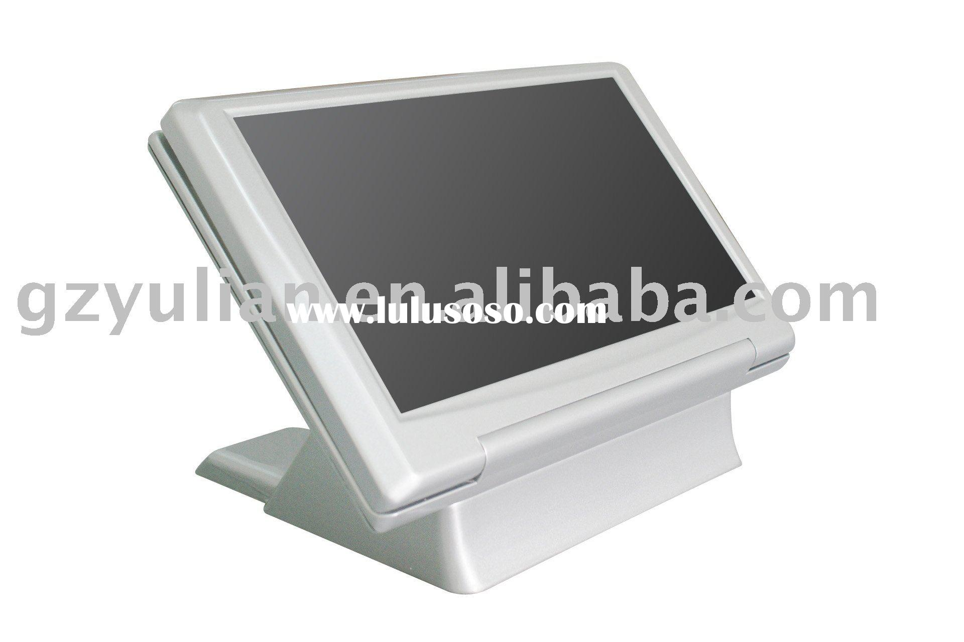 Dual screen Touch screen computer--15.6 inch/ wide screen 15.6 inch touch screen POS/ Dual screen PO