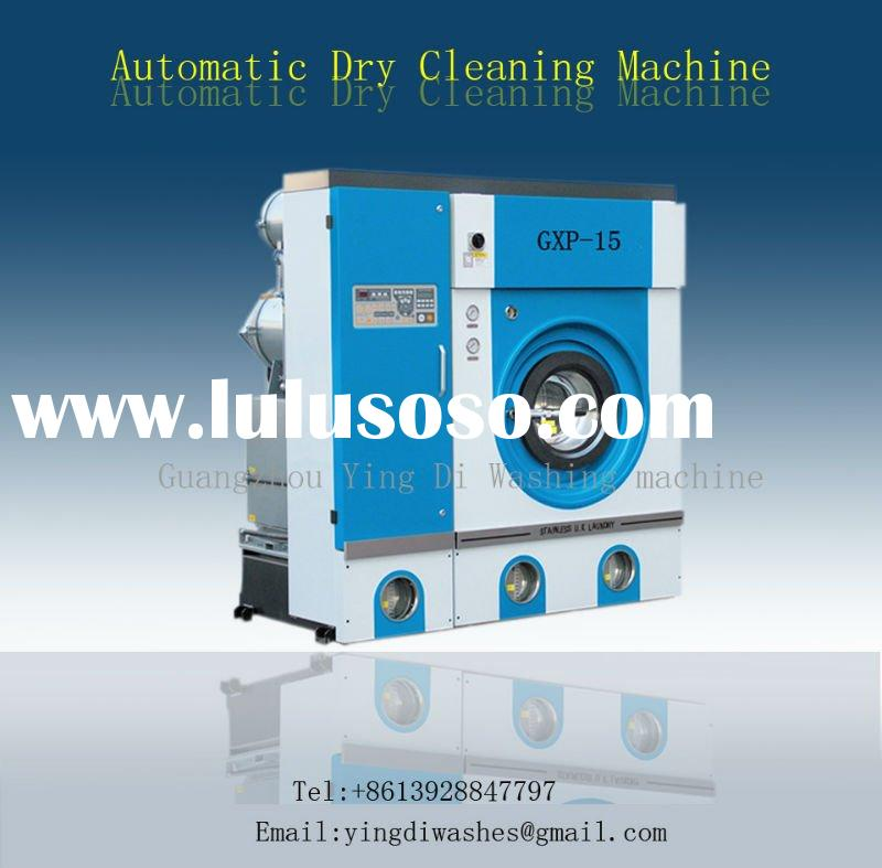 Environment-friendly automatic dry cleaning machine, laundry shop equipment for clothes