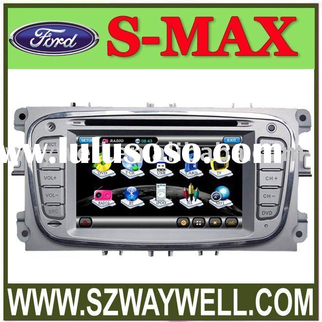 FOCUS II new Ford Mondeo and S-Max Car DVD GPS Navigation Bluetooth Radio IPOD Touch Screen Video Au