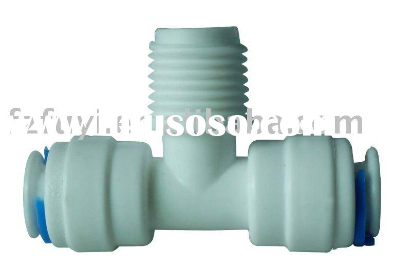 FY016A equal 1/4 inch tube OD plastic quick connector of Water fittings