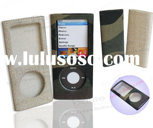 Fabric case for iPod Nano 4G