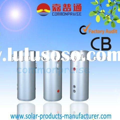 Family pump circulated solar water heater system