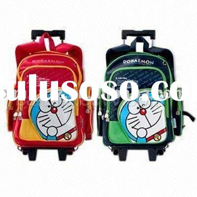 Fashion Cartoon Children Trolley School Bags and School Backpack