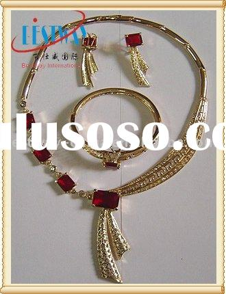 Fashion Zinc Alloy African Jewelry Set Stable At Least For 1 Year