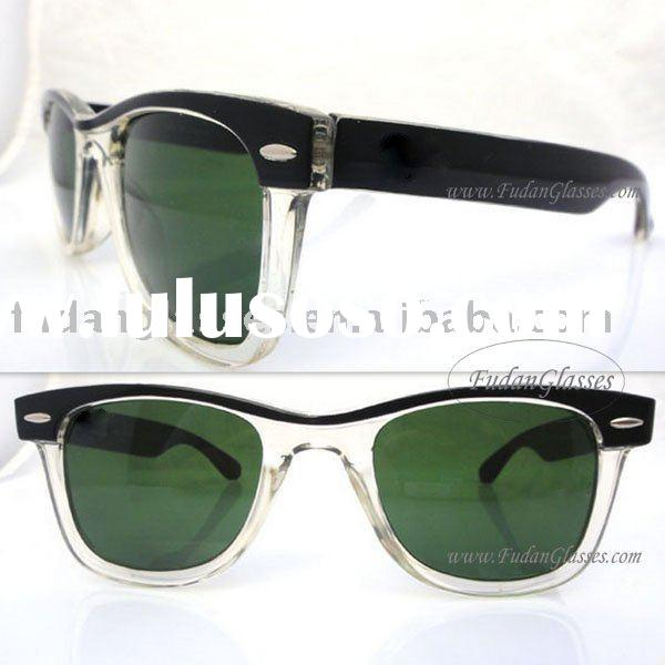 Fast shipping RB 2143 original sunglasses Brand name designer sunglass White mix black wholesale