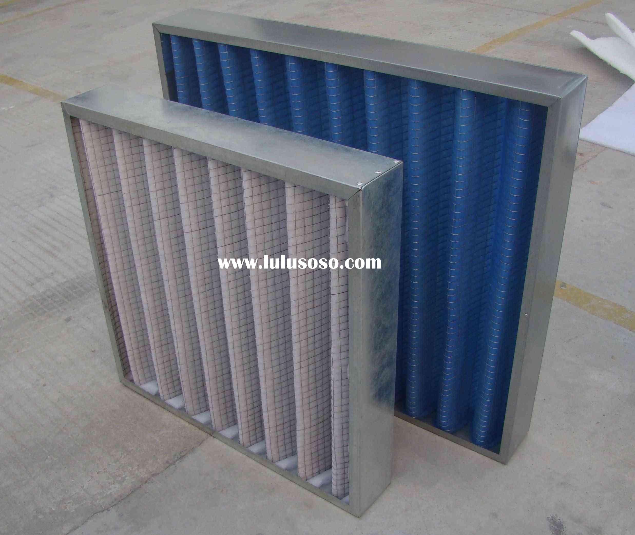 Foldaway filter mesh(polyester mesh;air filter;dust filter)