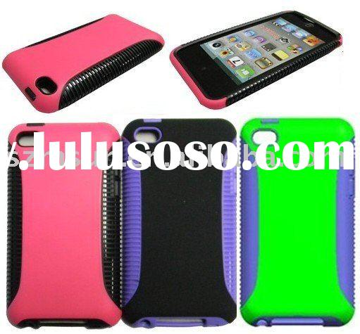 For iPod Touch 4 TPU+PC Case