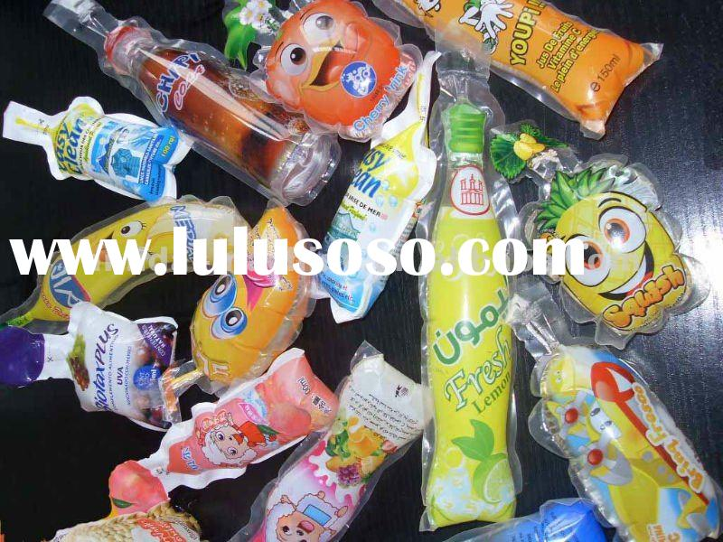 Fruit shape bag juice packing machine