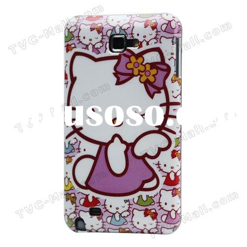 Galaxy Note i9220 Hard Case For Samsung Galaxy Hello Kitty Case