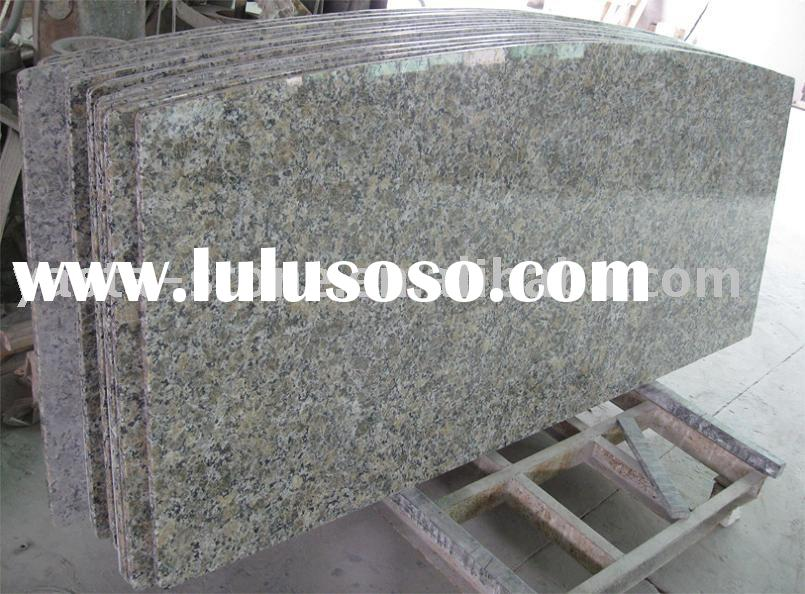 Granite Island Tops,Kitchen Island Top,Large Granite Tops,Butterfly Yellow Granite From Yasta Stone