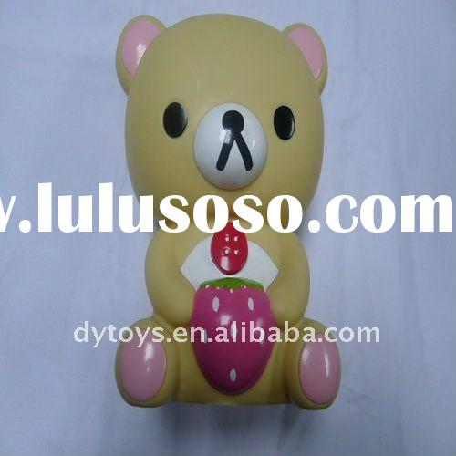 Gummy bear toy,plastic polar bear doll