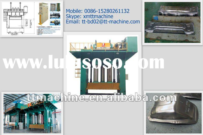 H frame structure hot / cold metal forging 2000ton hydraulic press for car parts