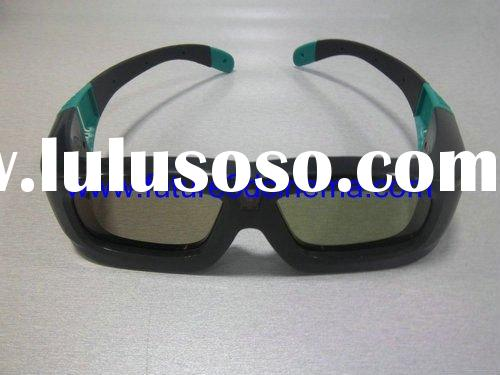 High Quality Active shutter 3D glasses for DLP link projector(BB1-2)