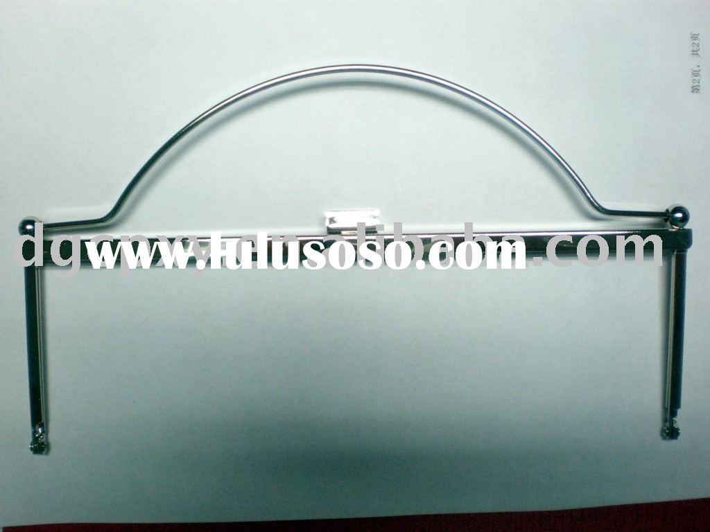 High quality metal frame for bag and purse.