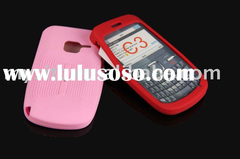 Hot Selling Mobile Phone Silicon Case for Nokia C3
