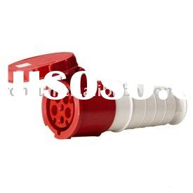 IEC waterproof plastic IP67 Industrial Coupler Industrial plug and socket electrical plug&socket