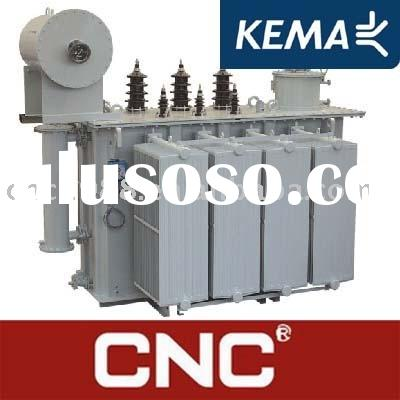 KEMA 35KV (33KV 35KV 20KV 24.5KV)Liquid filled Power Transformer (Oil cooled Power transformer) Oil