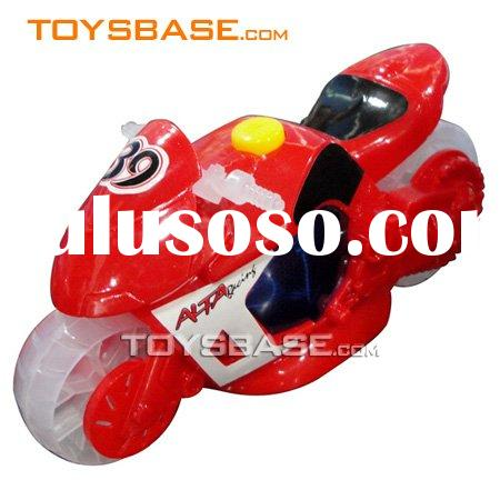 Kids play toys friction motorbike toy car
